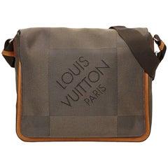 Louis Vuitton Brown Terre Damier Geant Canvas Messenger Bag