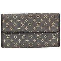 Louis Vuitton Black x White Porte Tresor International Wallet