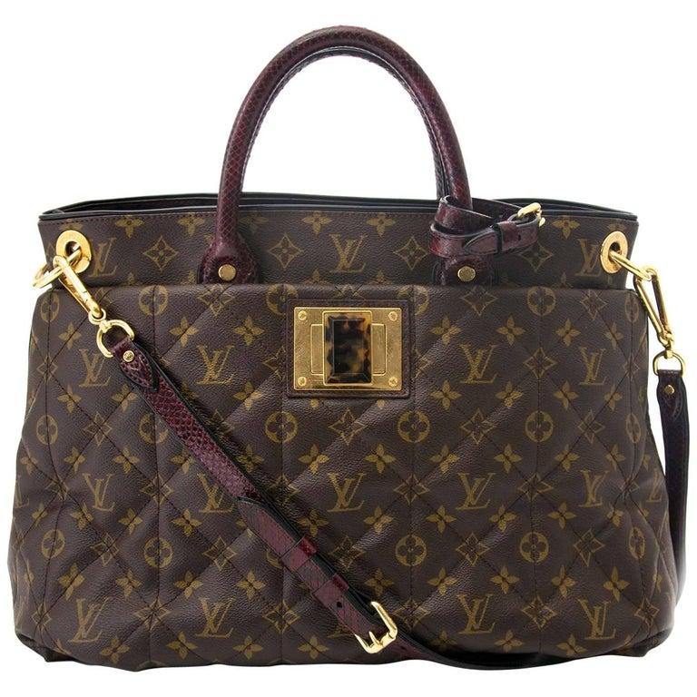 Louis Vuitton Monogram Etoile Exotique GM Tote Bag