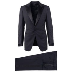 Tom Ford Black Wool Satin Lapel O 039 Connor Two Piece Tuxedo