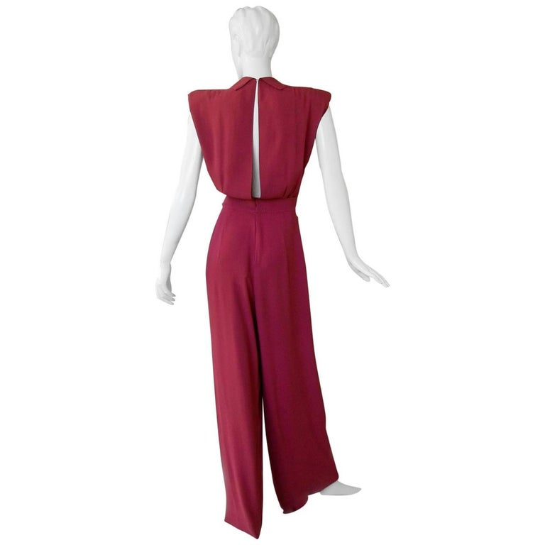 Valentina Katharine Hepburn Theatre Collection Jumpsuit Ensemble Museums, 1942 For Sale