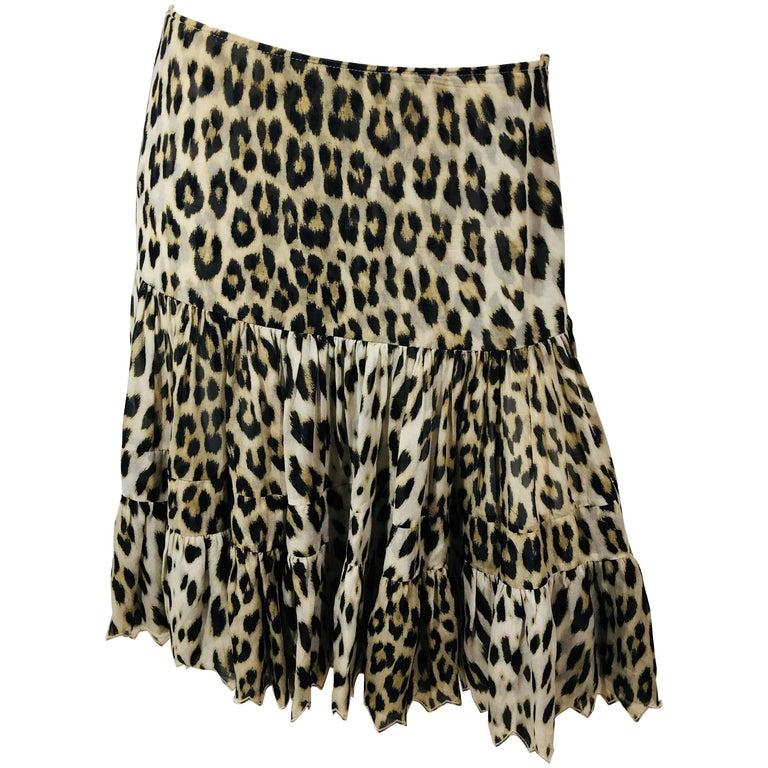 Blumarine Ruffled Skirt
