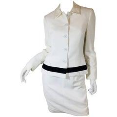 Versus Gianni Versace 2 Piece Skirt Suit