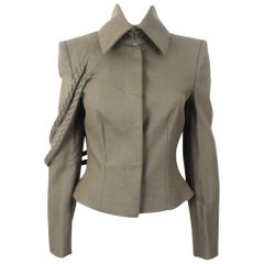 Alexander McQueen 2009 Collection Military Runway Style Jacket