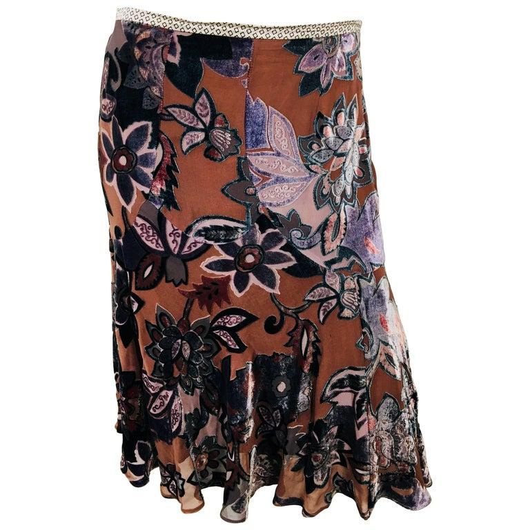 Etro A-Line Skirt