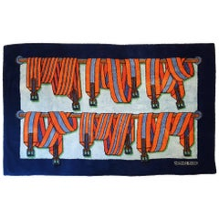 Hermes Rare Suspenders Beach Towel
