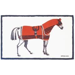 Hermes Horse Beach Blanket