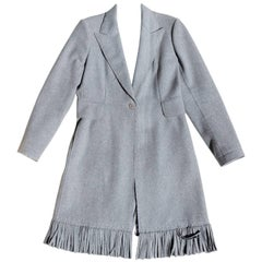 Alaïa Wool Fringe Coat