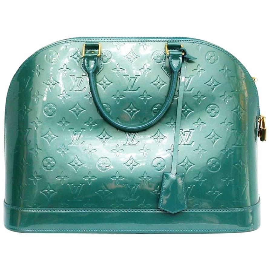 Louis Vuitton Monogram Vernis Alma GM Bag