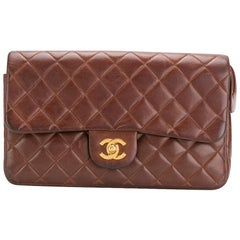 Chanel Caramel 2.55 Quilted Lambskin Backpack Bag