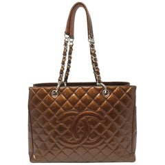 Chanel Vernis Gst Grand Shopping Tote Chain Bag, 2008/2009