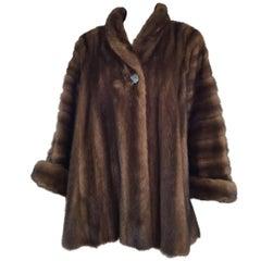 Christian Dior Vintage Brown Mink Coat