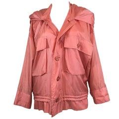 """Issey Miyake Nylon """"Windcoat"""" Jacket"""
