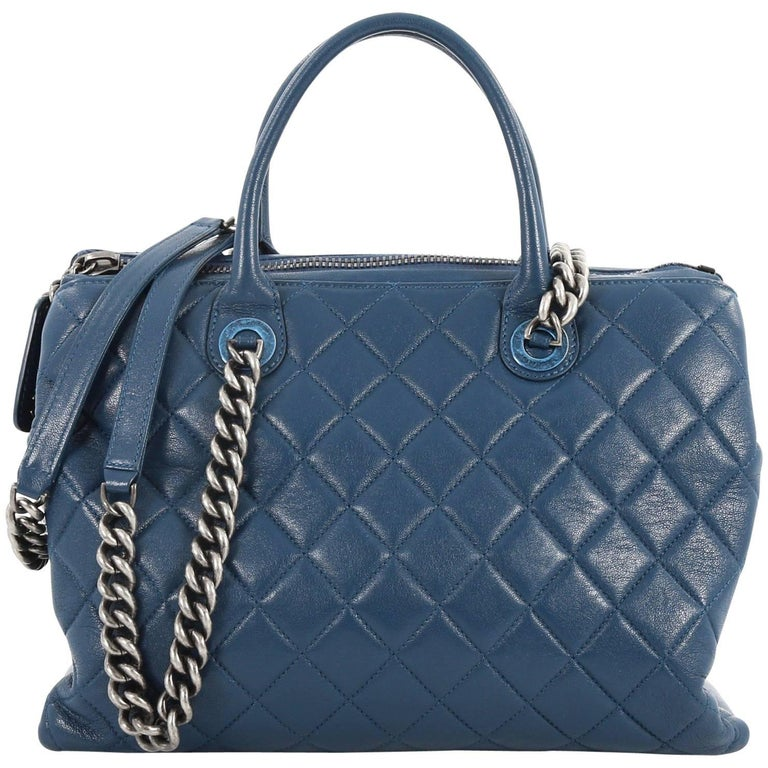 Chanel Boy Chained Tote Quilted Calfskin Medium at 1stdibs 143171d6e7851