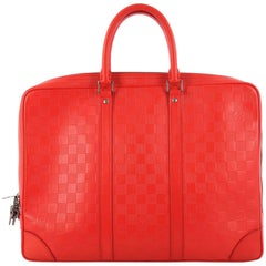 Louis Vuitton Porte-Documents Voyage Briefcase Damier Infini Leather