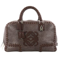 Loewe Amazona Bag Whipstitch Leather 36