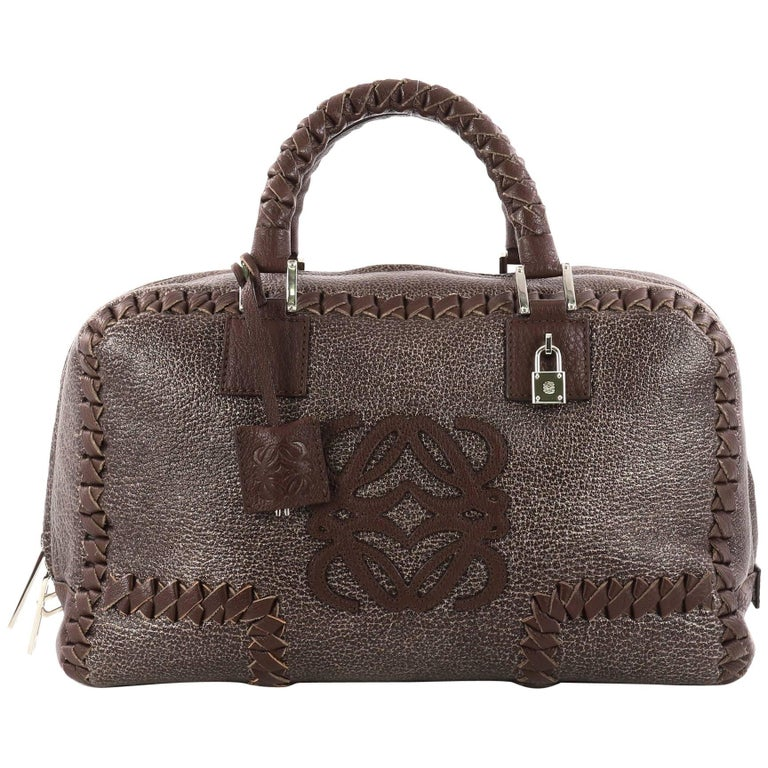 Loewe Amazona Bag Whipstitch Leather 36
