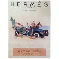 Hermes Ad Print - 1930's