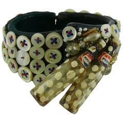 Liliane Muller Vintage Clamper Bracelet
