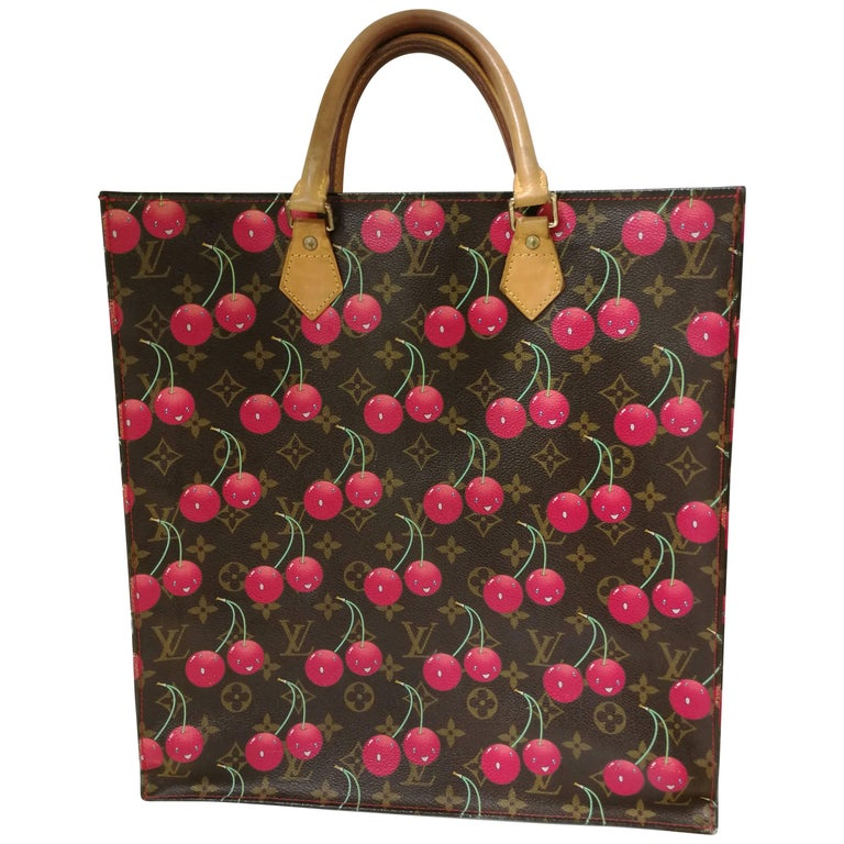 Louis Vuitton Murakami Sac Plat Cherry Bag