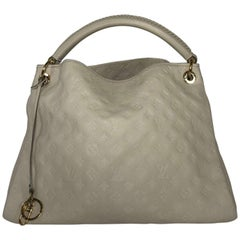 Louis Vuitton Empriente Artsy MM in Neige Hobo Bag