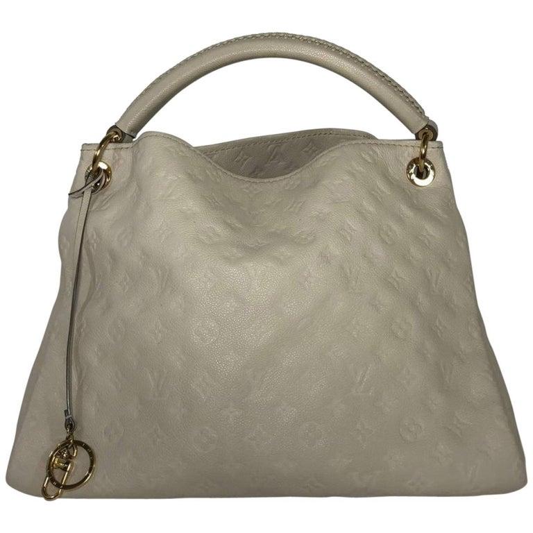 Louis Vuitton Empriente Artsy MM in Neige Hobo Bag