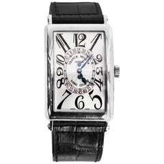 Franck Muller White Gold Long Island Bi-Retrograde Automatic Wristwatch