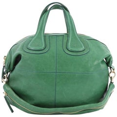 Givenchy Nightingale Satchel Leather Small