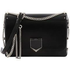 Jimmy Choo Lockett Petite Shoulder Bag Leather