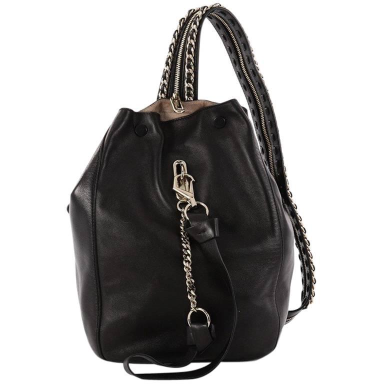 Jimmy Choo Echo Backpack Leather Medium