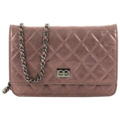 Chanel Reissue Wallet On Chain Quilted Aged Calfskin