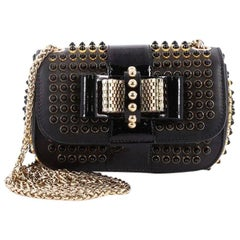 Christian Louboutin Sweet Charity Crossbody Bag Spiked Leather Mini