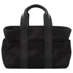 Hermes Acapulco Tote Toile And Leather PM
