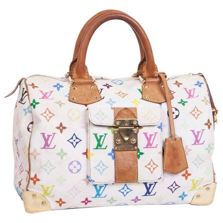 6eab2f1063b Louis Vuitton Murakami Multicolored Monogram Canvas and Leather Speedy bag