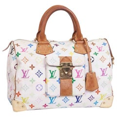 Louis Vuitton Murakami Multicolored Monogram Canvas and Leather Speedy bag