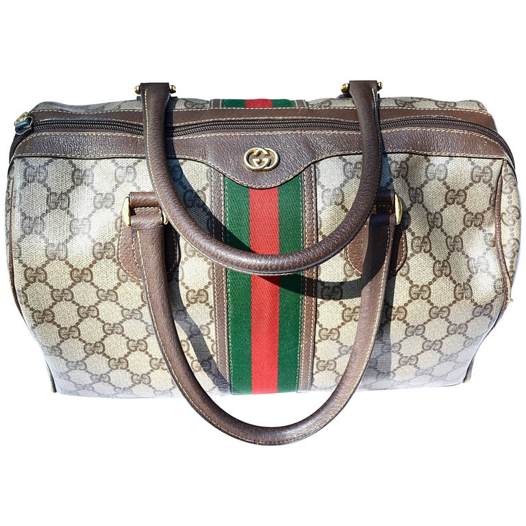 Gucci Logo Mini Duffle Handbag