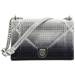 Christian Dior Diorama Flap Bag Ombre Cannage Embossed Calfskin Medium