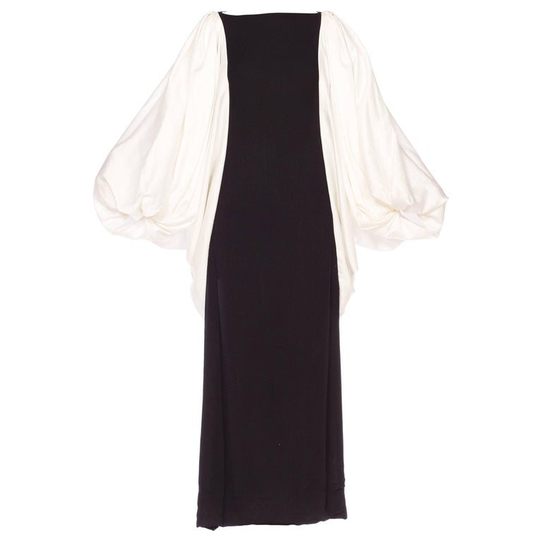 Richline Gown with Giant Sleeves