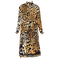 Leopard Print Leonard French Jersey Dress