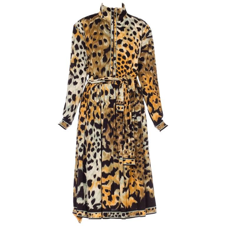 Leopard Print Leonard French Jersey Dress