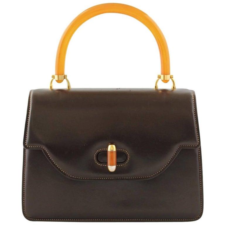 Gucci Vintage Bakelite Bag