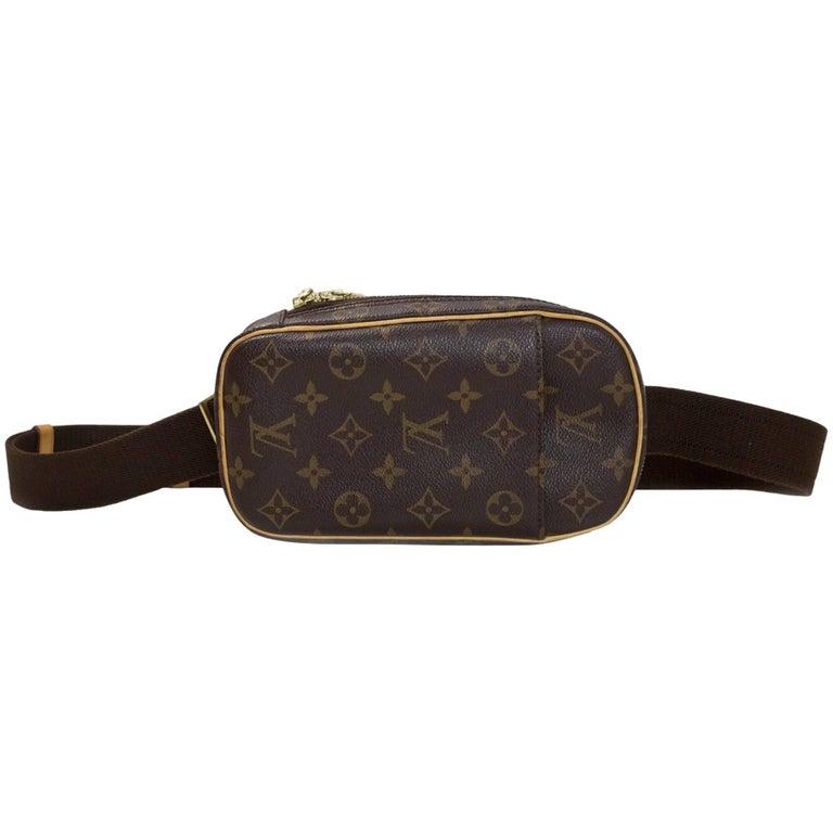 42317f2032f3 Louis Vuitton Monogram Canvas Pochette Gange Body Bag Belt Bag Fanny Pack  at 1stdibs