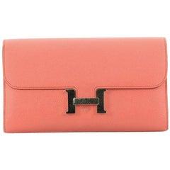 Hermes Constance Epsom Long Wallet