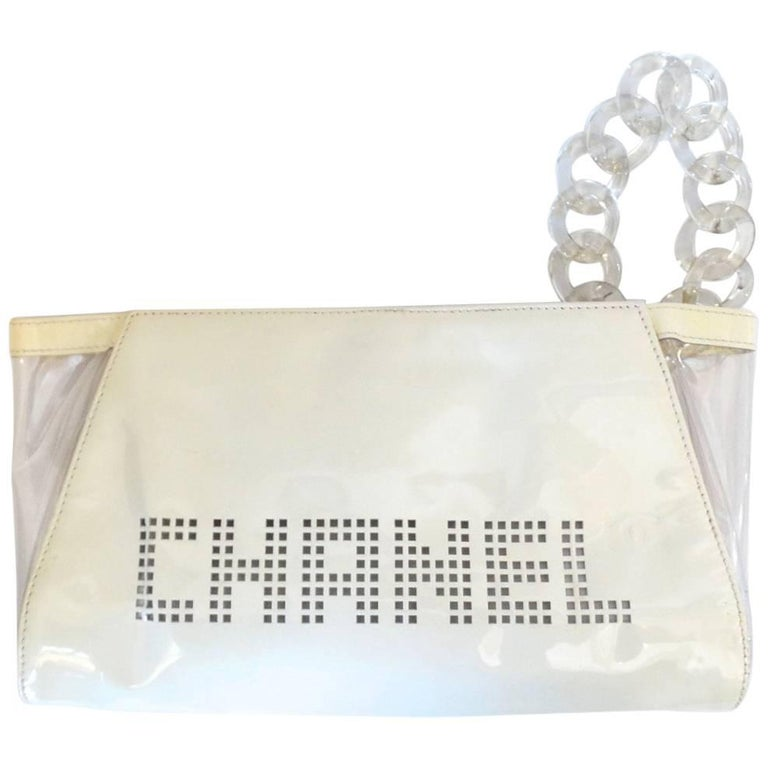 Chanel Patent Leather Wristlet Clutch, 2003
