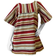 Rikma Striped Bell Sleeve Blouse, 1970s