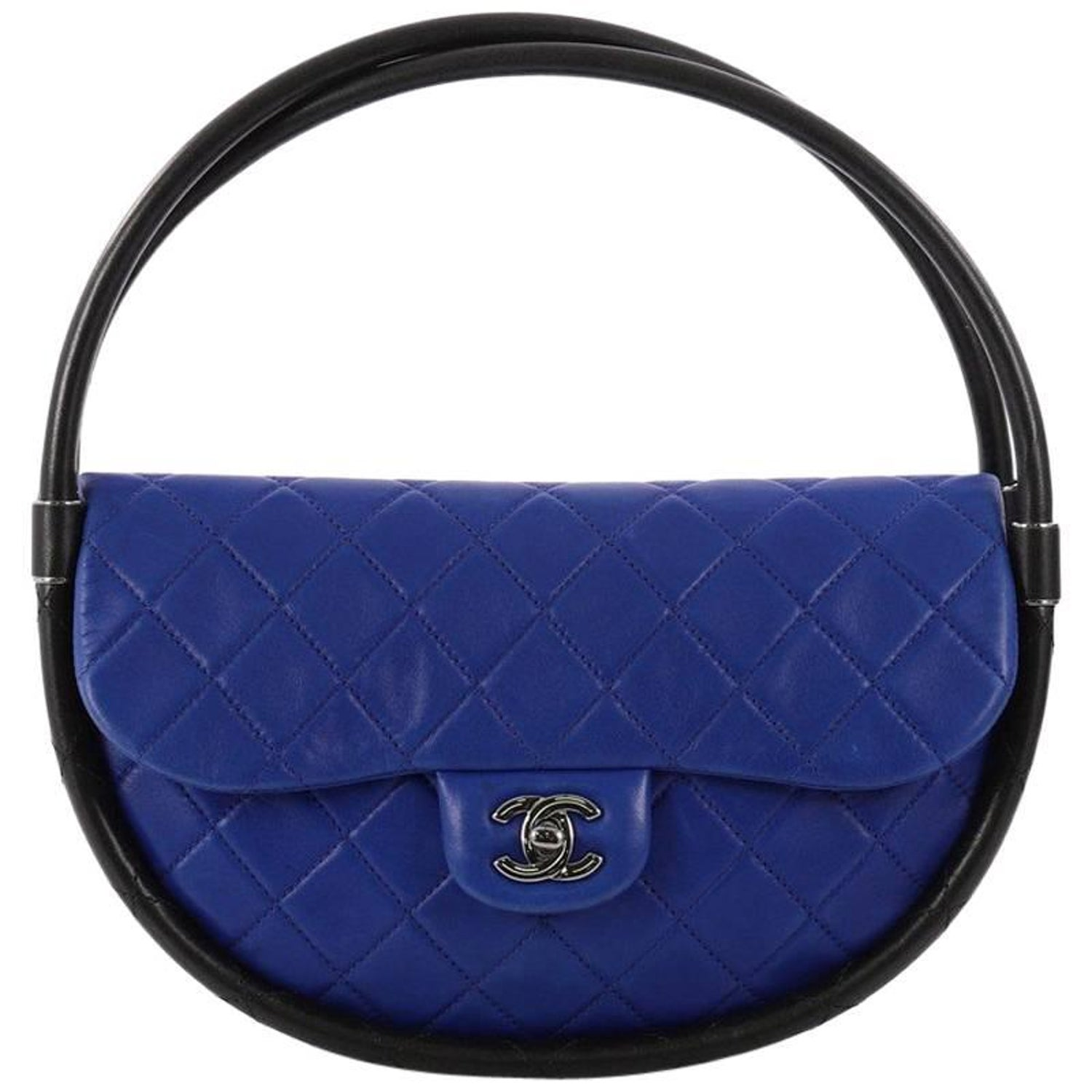 e75df5f62c32 Chanel Hula Hoop Bag Quilted Lambskin Small at 1stdibs