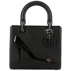 Christian Dior Warhol Lady Dior Calfskin Medium Handbag