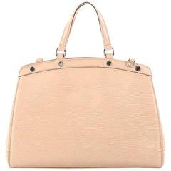 Louis Vuitton Epi Leather Brea MM Handbag