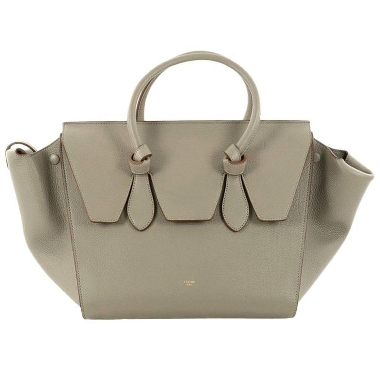 Celine Grainy Leather Small Tie Knot Tote