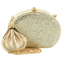 Judith Leiber Small Crystal Minaudiere